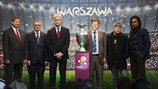 UEFA EURO 2012 Follow the Trophy tour in Warsaw