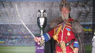 UEFA EURO 2012 Follow the Trophy Tour in Odesa